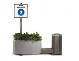 Barriere mobili per arredo urbano