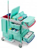 Carrelli per pulizie ospedaliere