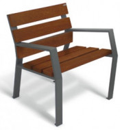 Sedute singole per arredo urbano