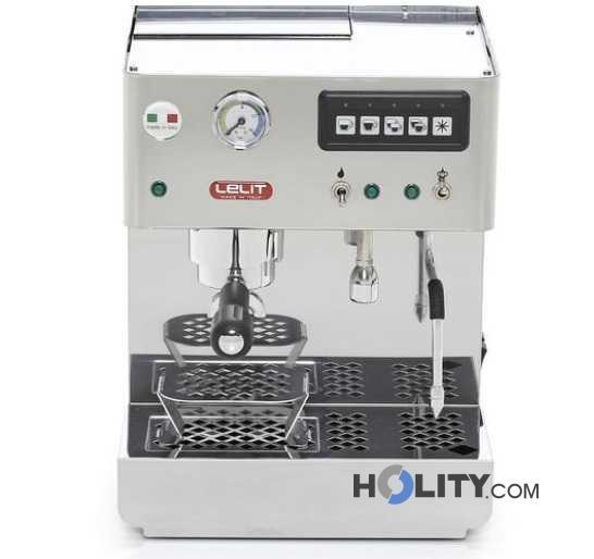 Macchina caffe professionale con portafiltro da 57 mm h13243