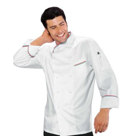 Giacca cuoco in cotone h6510