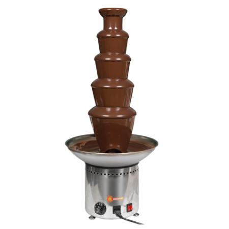 Fontana per cioccolato professionale 80 cm h15