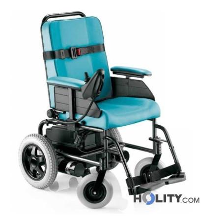 Sedia a rotelle elettrica per disabili h31003 for Sedia elettrica x scale