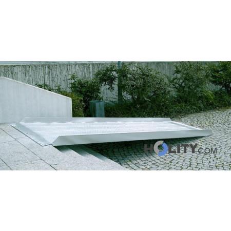 Rampa per disabili alluminio h23707