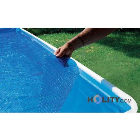 Copertura galleggiante per piscine ovali 7,00x3,50 mt h17451