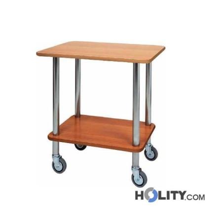 carrello-di-servizio-in-legno-e-acciaio-inox-h0929