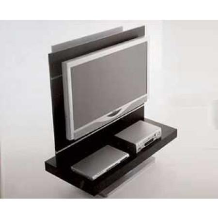 Mobile porta tv in legno e vetro con alloggiamenti per cd dvd h10214 - Mobili porta tv in vetro ...