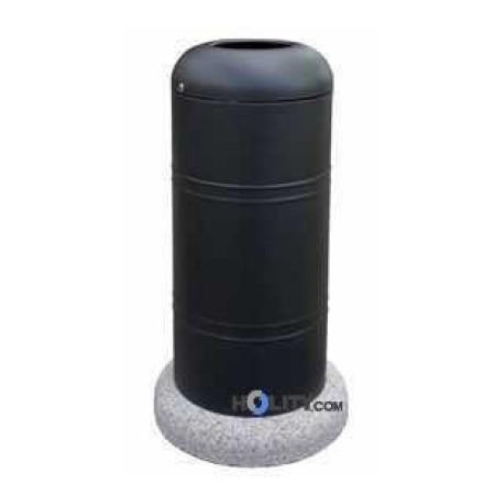 cestino-porta-rifiuti-in-acciaio-zincato-con-base-in-cemento-h10955