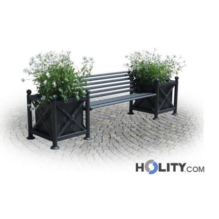 panchina-per-arredo-urbano-con-fioriere-h287-150