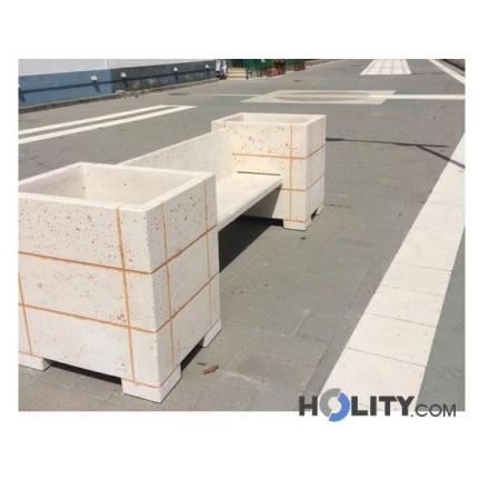 panchina-per-arredo-urbano-con-fioriere-h31932