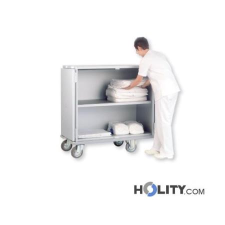 carrello-portabiancheria-per-hotel-con-ripiano-h41005