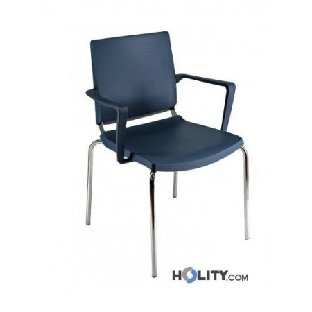 sedia-per-meeting-con-braccioli-h44908