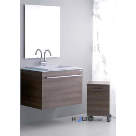 Mobile bagno con ruote h21020