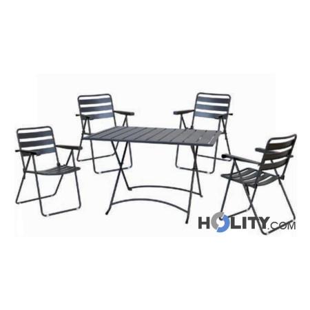 Set tavolo e sedie giardino abbacchiatori pneumatici for Sedie a prezzi bassi