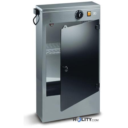 Sterilizzatore UV 16 Watt in acciaio inox h19012