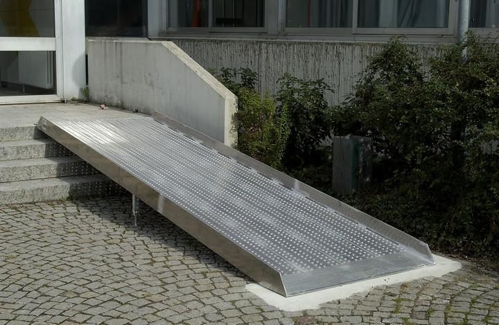 cerchi rampa per disabili alluminio h23707