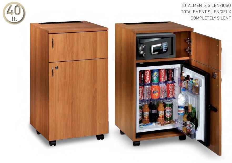 Cerchi Minibar Per Hotel A Mobile Totalmente Silenzioso H7656