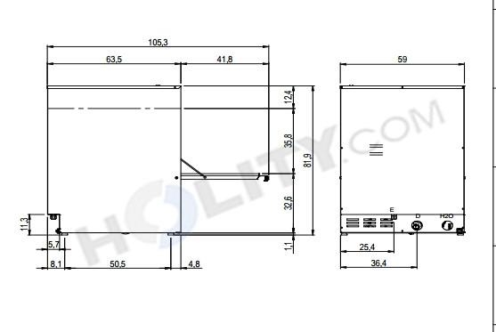 Lavastoviglie Professionali In Acciaio Inox 1810 H35995 Dimensioni