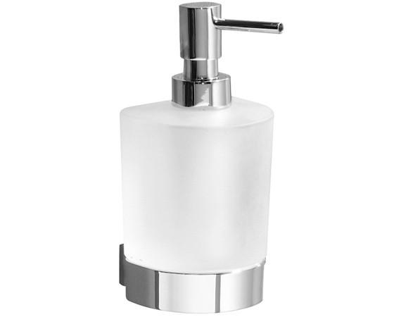 Cerchi accessori bagno in ottone e vetro satinato h107144 - Accessori bagno in ottone ...