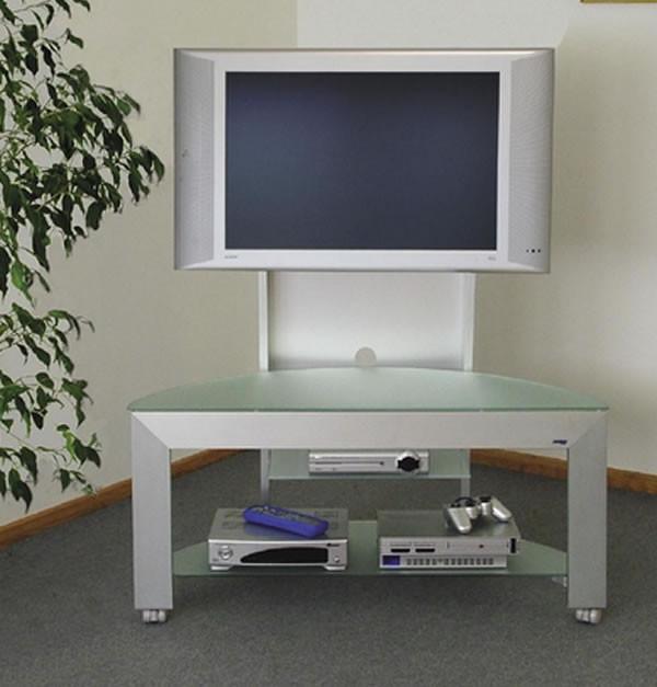 Carrelli Porta Tv Lcd.Carrello Porta Tv Lcd In Alluminio H12502