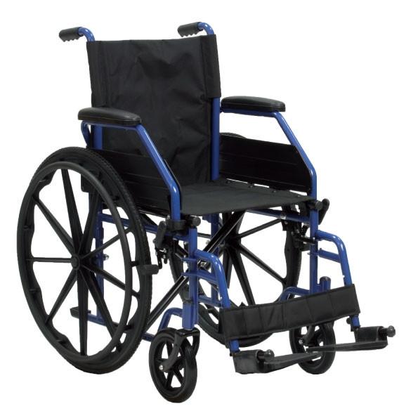 Carrozzina pieghevole per disabili termigea h23018 - Carrozzina per bagno disabili ...