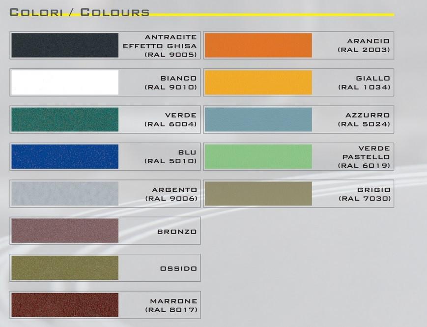 Cerchi cestino portarifiuti da esterno h168117 - Colori da esterno ...