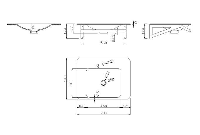 Cerchi lavabo per bagno ergonomico con braccio porta telo h9110 - Porta bagno disabili ...