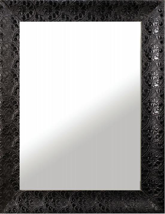 Specchio reversibile con cornice in legno laccata h3911 - Specchio cornice nera ...