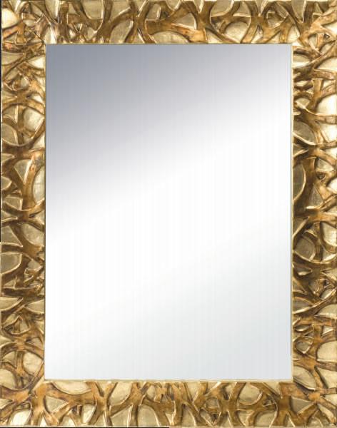 Cerchi specchio reversibile con cornice in legno h3909 - Specchio cornice oro ...