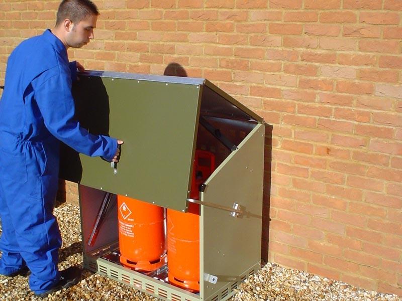 Box da esterno per bombole di gas h26804 - Bombole gas per cucina ...