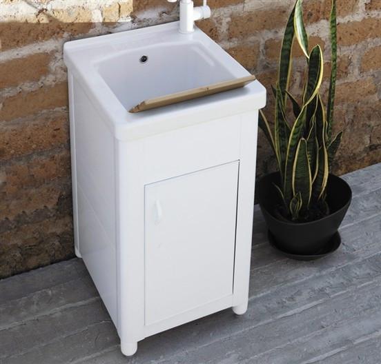 Cerchi lavatoio con vasca in ceramica elle emme ci h21013 - Lavatoio ceramica con mobile ...