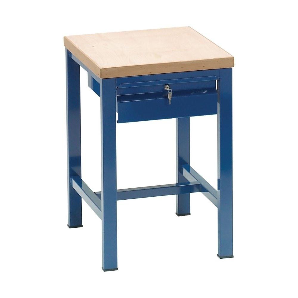 Cerchi tavolo da lavoro con piano in legno h28608 - Tavolo da lavoro con ruote ...