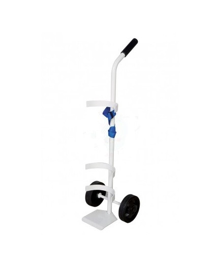 Carrello porta bombola ossigeno 10 14 litri h5508 - Carrello porta bombola ossigeno portatile ...
