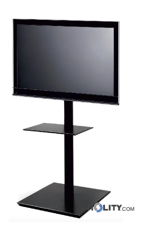 Mobili E Supporti Tv.Cerchi Mobile Porta Tv In Acciaio H19318