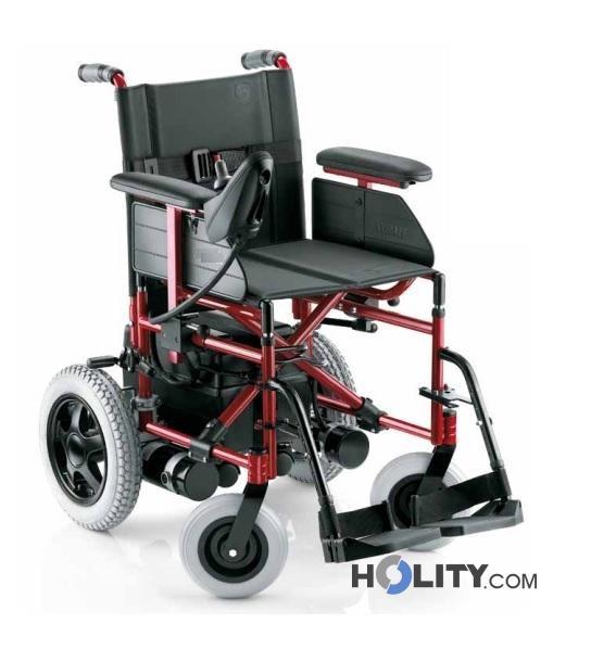 Sedia a rotella elettrica h31002 for Sedia elettrica esecuzione reale