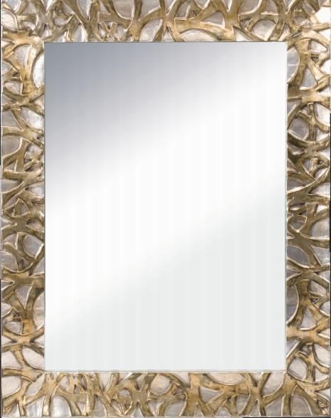 Specchio reversibile con cornice in legno h3909 - Specchio in legno ...