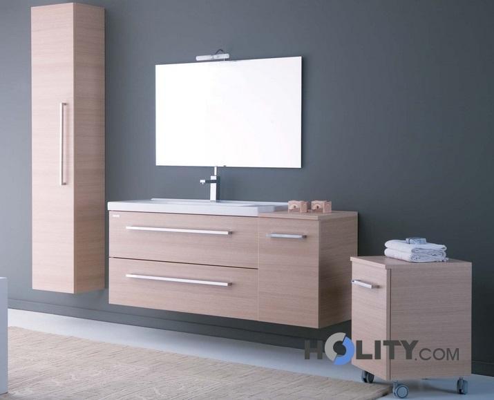 Colonna bagno sospesa h21027 for Maniglie mobili bagno