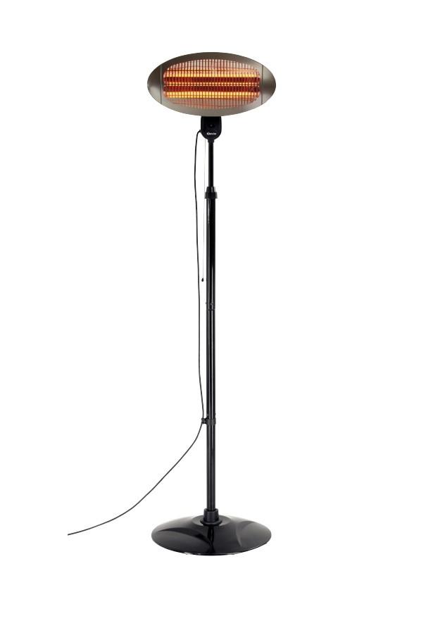 Lampada riscaldante elettrica h22031 for Lampade infrarossi riscaldanti vortice