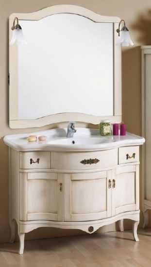 Mobile bagno classico in legno h11303 - Mobile da bagno classico ...
