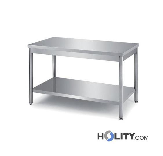 Cerchi Tavolo Da Lavoro Inox Per Ristoranti E Cucine Professionali H31428