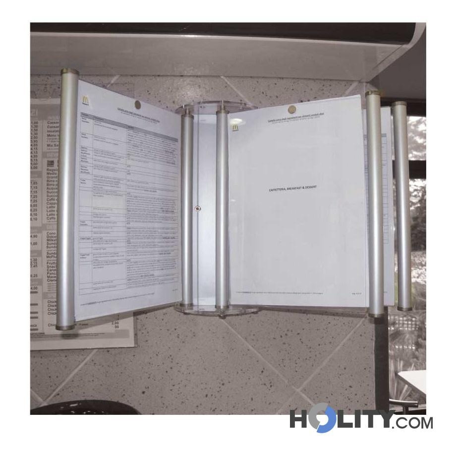 Espositore porta licenze a parete h42901 - Porte a parete ...