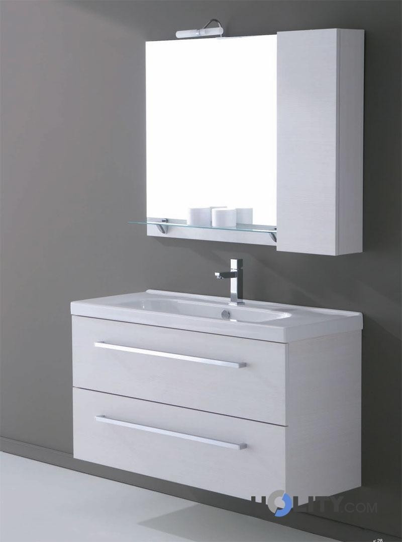 Mobile bagno sospeso con lavabo h21001 - Mobili da bagno con lavabo ...