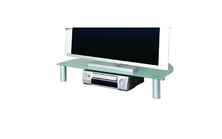 Cerchi mobile porta tv con vano in cristallo h12526 - Porta tv plexiglass ...