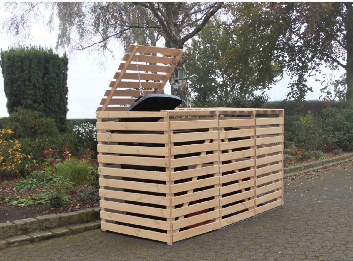 Box Per Bidoni Spazzatura copri bidoni per la spazzatura da esterno