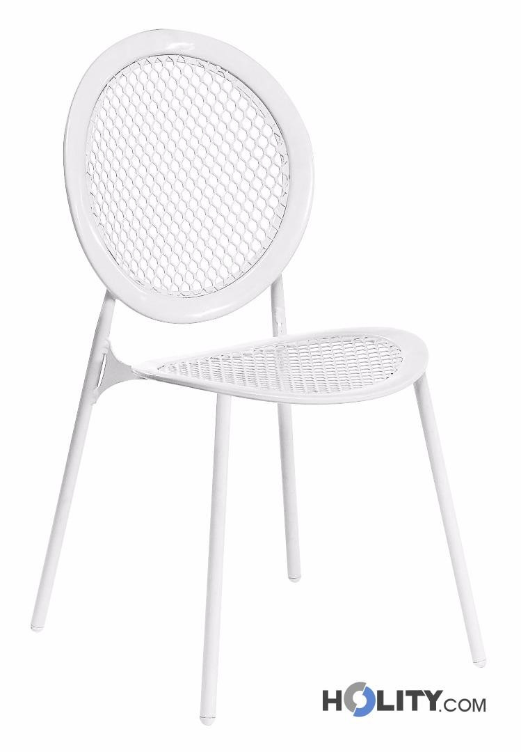 Cerchi sedia di design da giardino impilabile h19229 - Sedia di design ...
