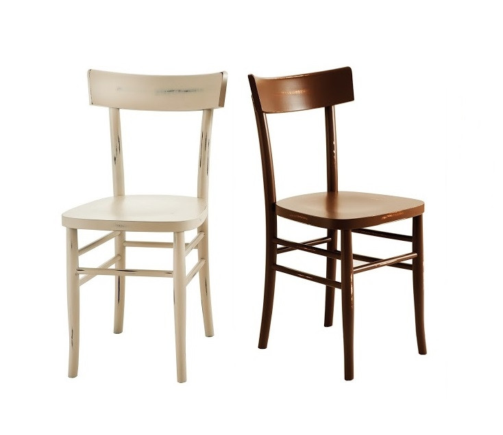 Sedia shabby chic in legno h20904 for Sedie shabby chic ikea