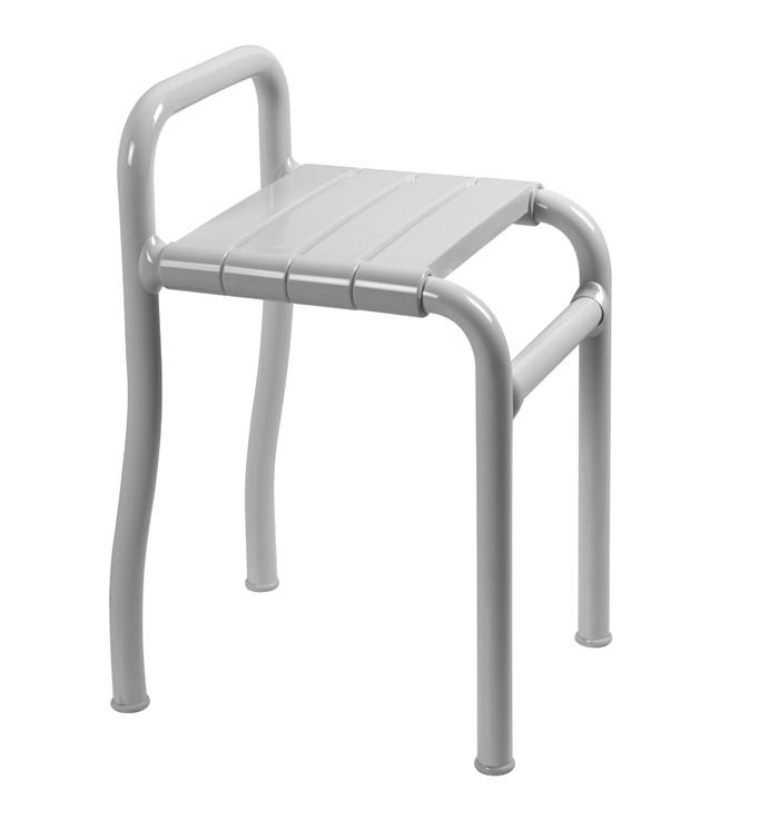 Sgabello per disabili e anziani in acciaio e nylon h9118 for Sgabello per il bagno