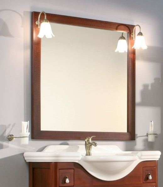 Specchiera per mobile bagno classico h21008 - Mobile bagno classico ...
