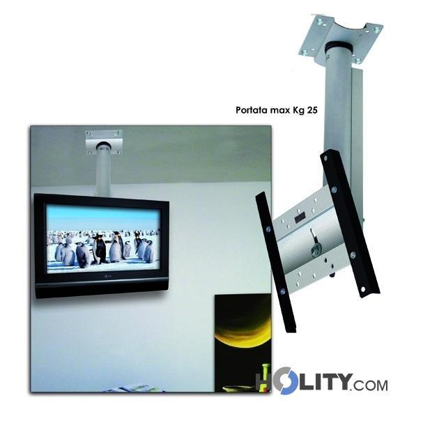 Supporto tv a soffitto h12534 - Supporto tv da parete ...