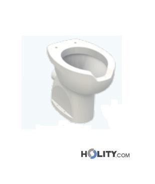Vaso per disabili in ceramica h11507 for Vaso per disabili